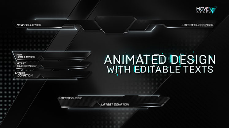 animated stream packages