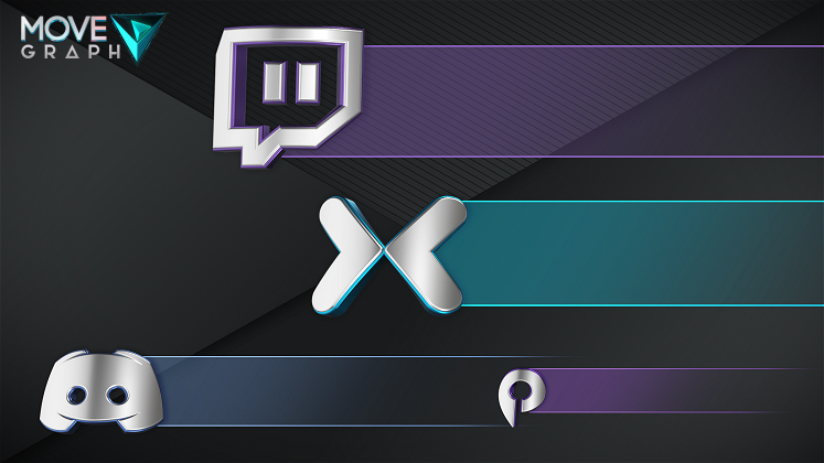 social media overlay twitch