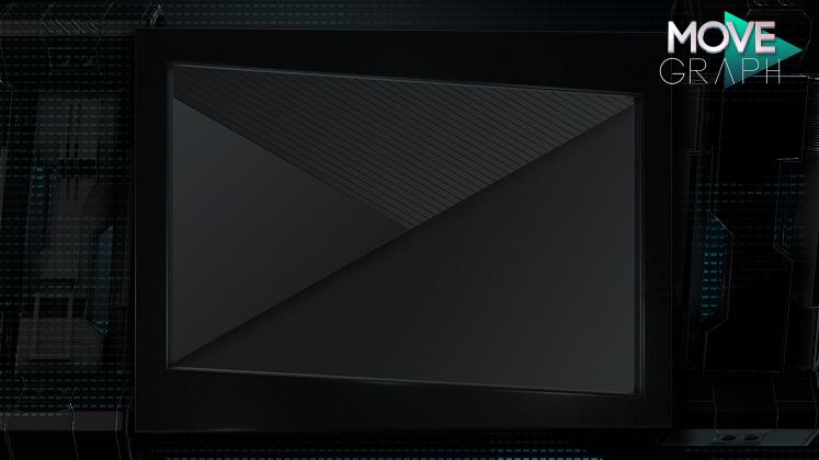 Mechanical video frame overlay