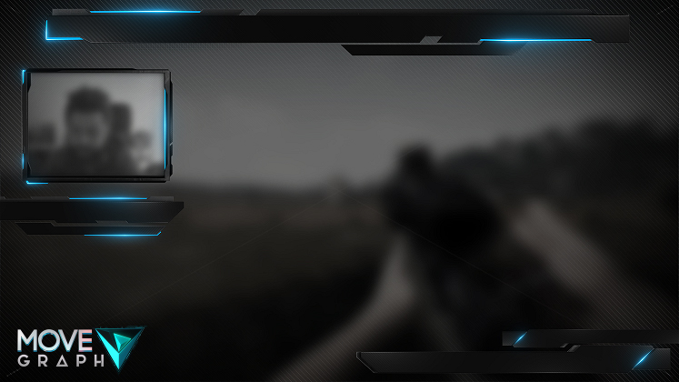 blue twitch overlay