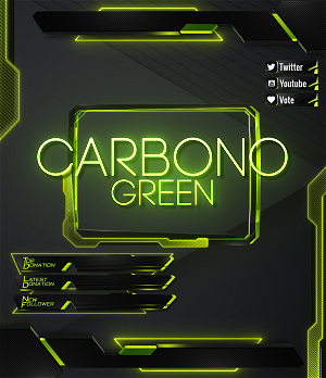 green overlay twitch
