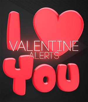 Valentine Twitch Alerts