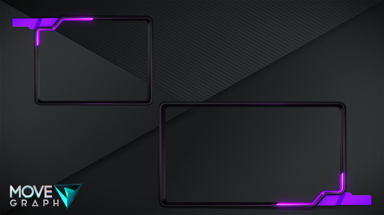 purple webcam overlay