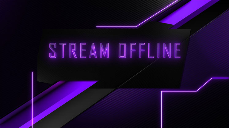twitch how to make a starting soon screen