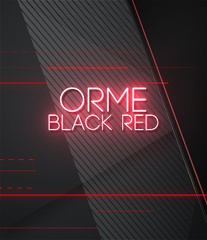 Modern Transition Wipe on red color