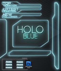 blue overlay twitch