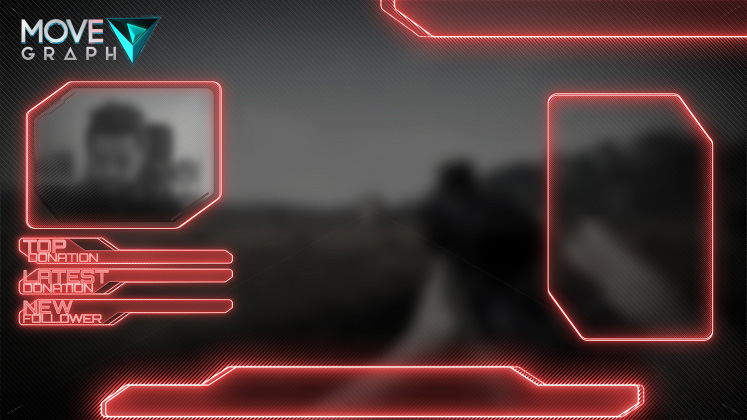 red overlay twitch