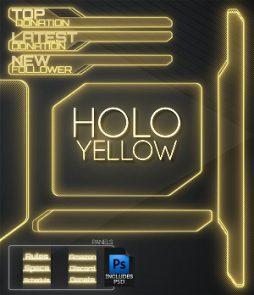 yellow overlay twitch