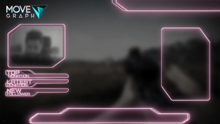 pink overlay twitch