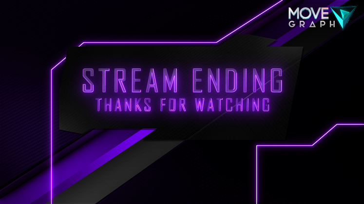 twitch purple ending screen