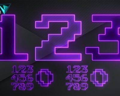 pixel letters png