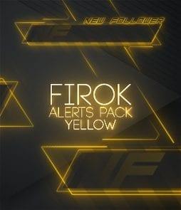 Yellow animated alerts