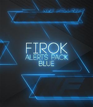 blue animated alerts