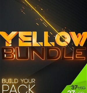 stream graphics yellow