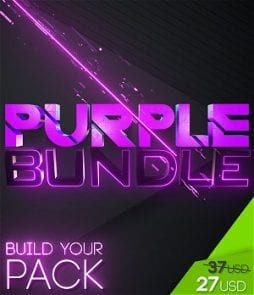 stream graphics purple