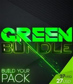 stream graphics green