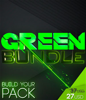 stream graphics green