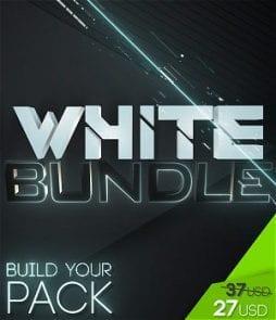 stream graphics white