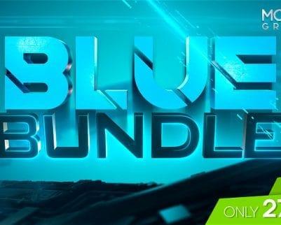 twitch graphics blue