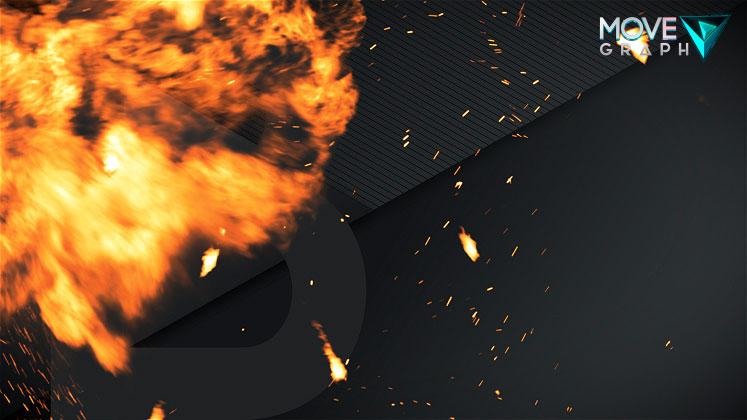 Explosion Stinger Transition