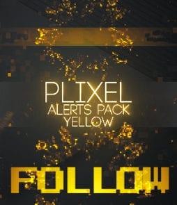 Yellow Streamlabs Alerts