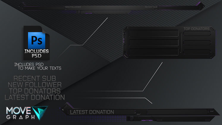 twitch overlays template