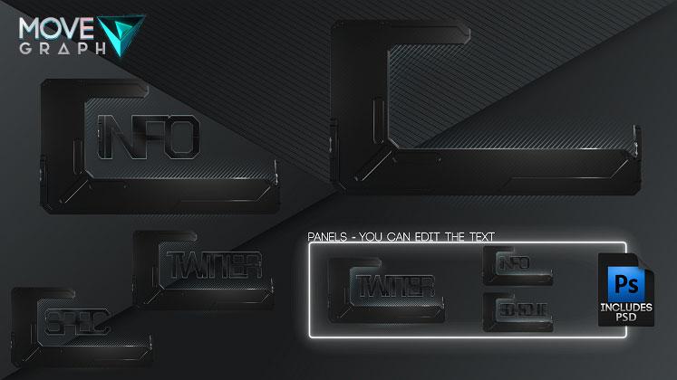 stream overlay panels