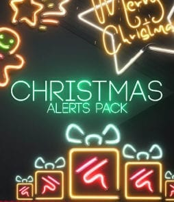 Christmas Twitch alerts
