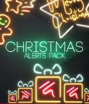 Christmas Twitch alerts