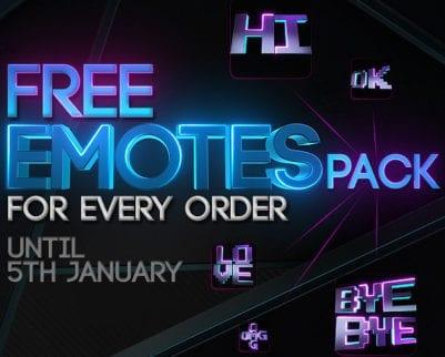 Free Twitch Emotes