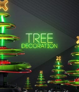 Wire Lights Overlay Christmas Decoration for OBS | SLOBS