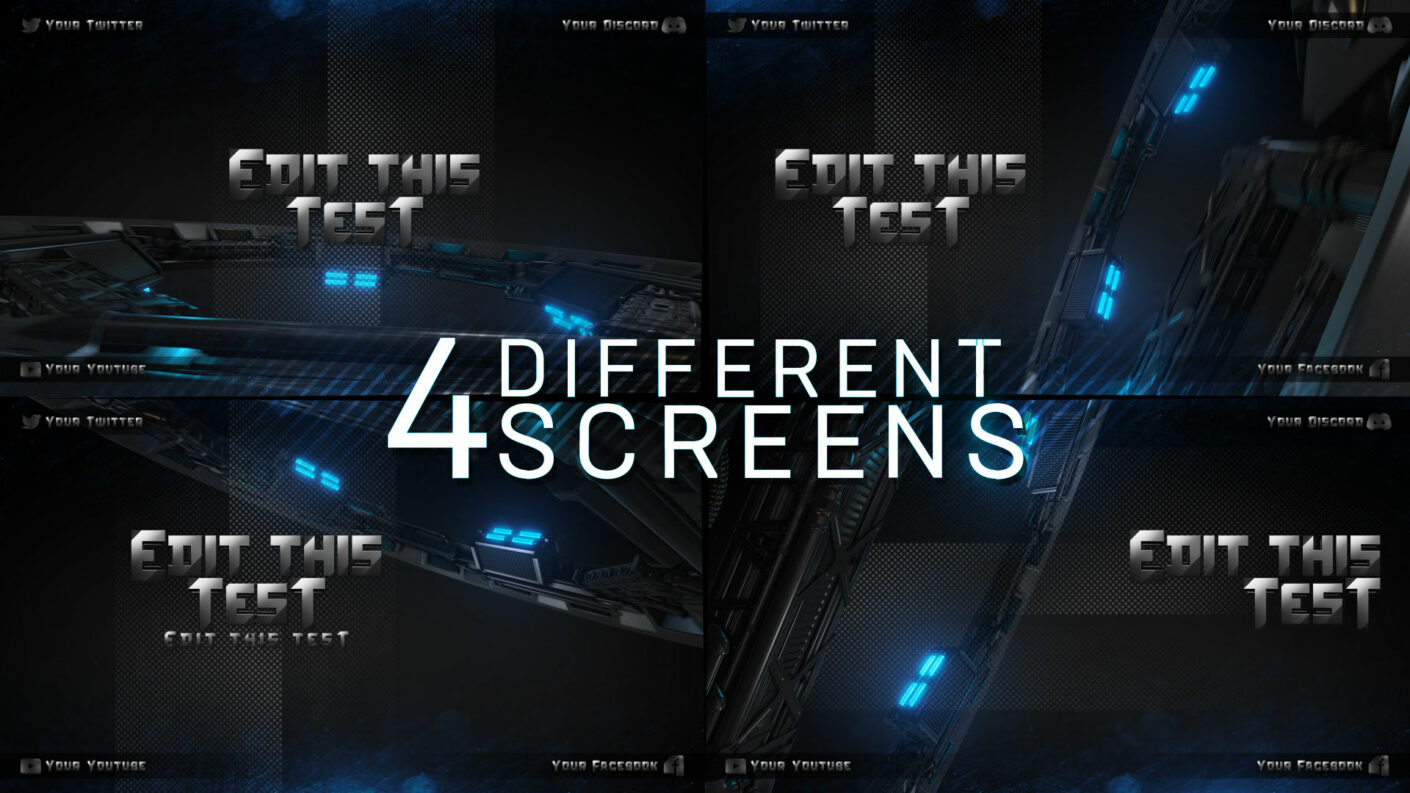 animated offline screens
