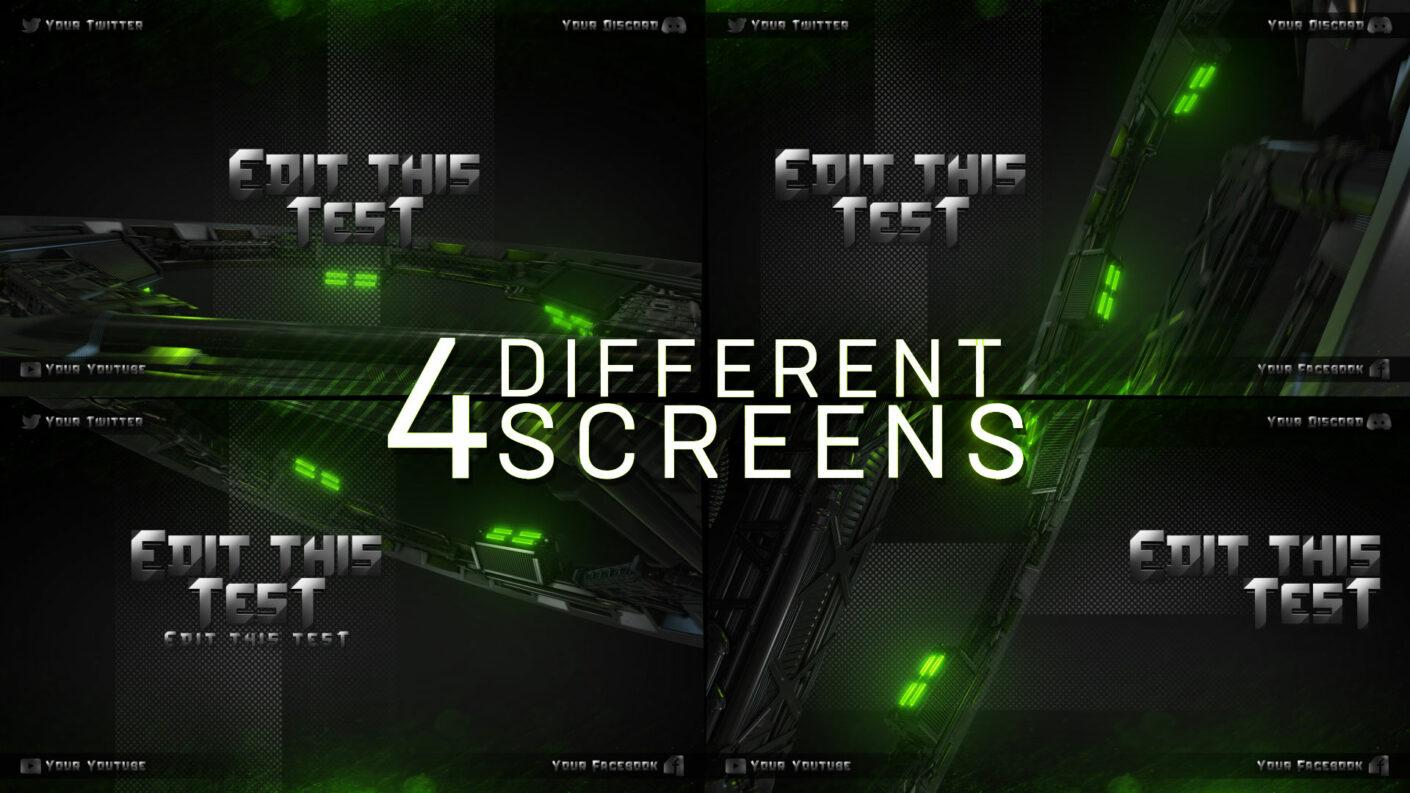 offline twitch screens
