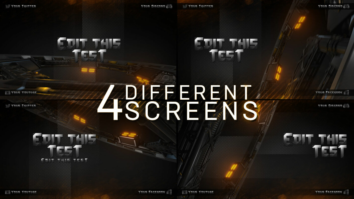 Twitch Screen Banners