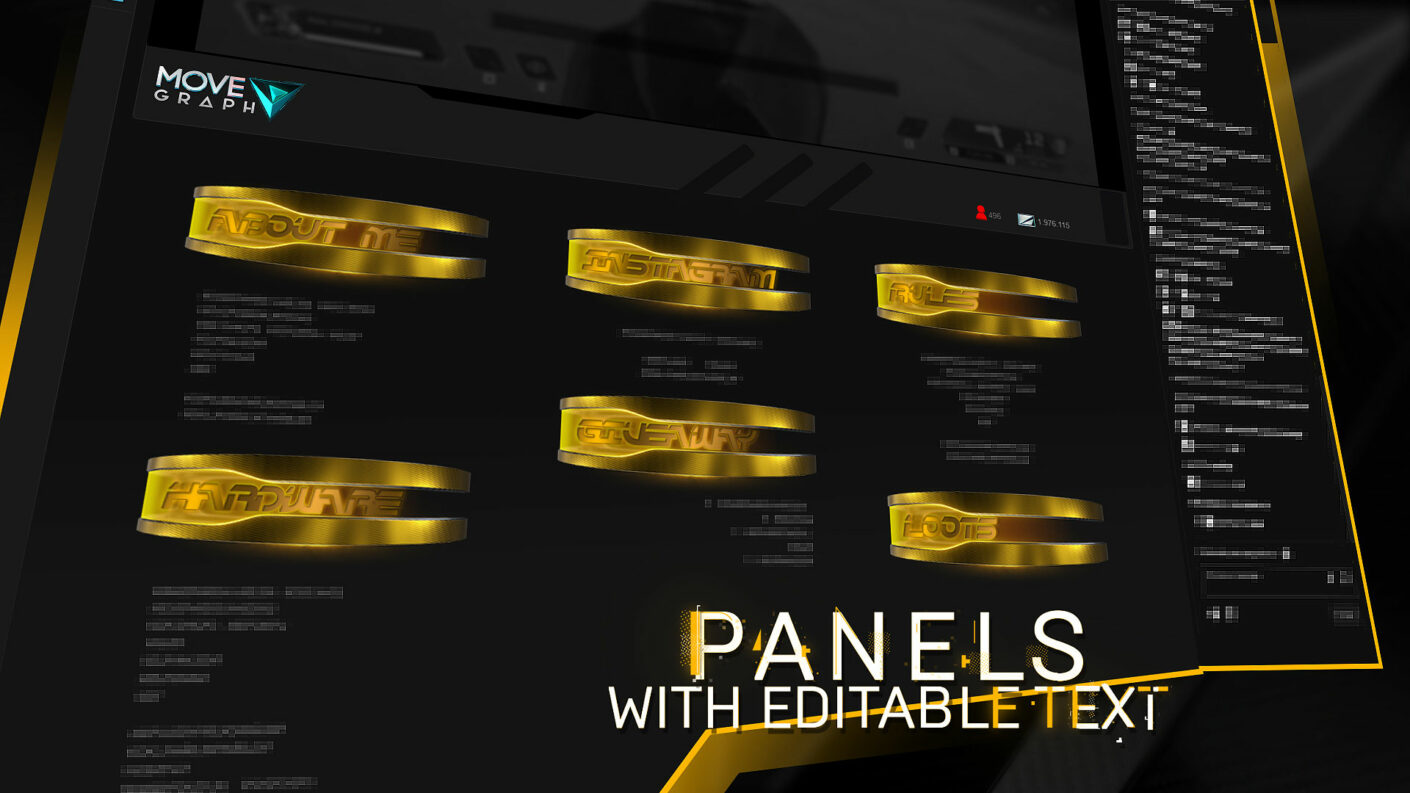 twitch panels free download
