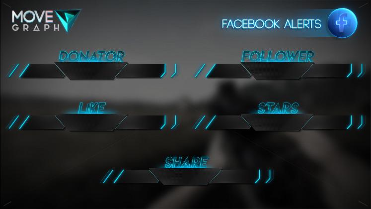 facebook stream alerts