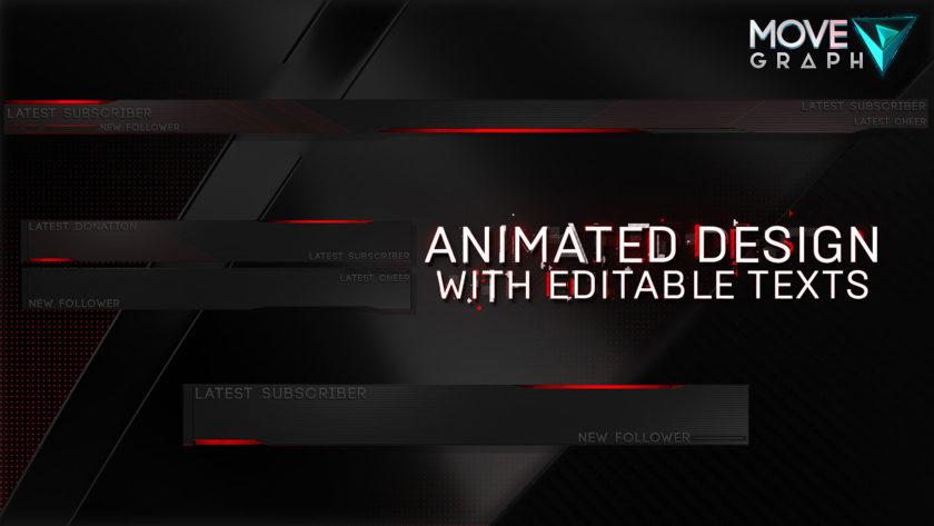 animated stream overlay pack