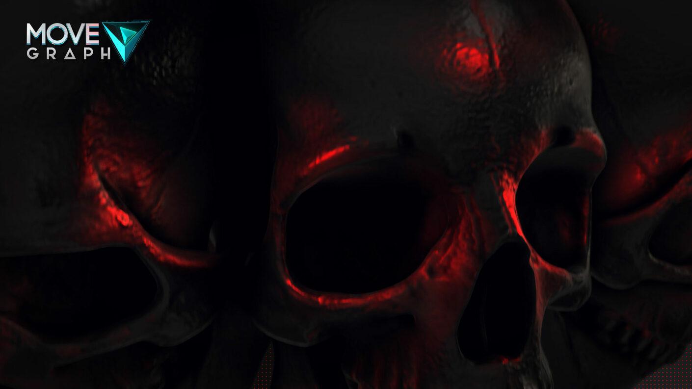 skull stinger transition